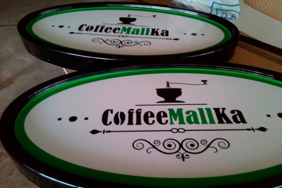 вывески лого для кафе